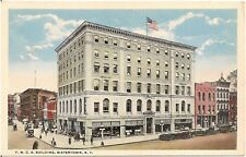 Y.M.C.A. Building in Watertown NY Postcard