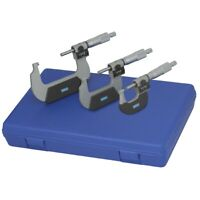 Fowler 72-224-103 Digital Counter Outside Micrometer Set 0-3in.