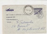 czechoslovakia 1961 airmail stamps cover ref 19681