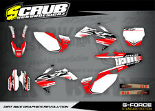 Honda graphics CRf 250R 2006 2007 2008 2009  decals '06 - '09 SCRUB  Motocross