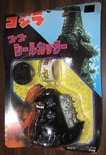 "3"" Vintage Godzilla Sticker Dispenser MOC Sealed Kaiju Japanese SD Figure"