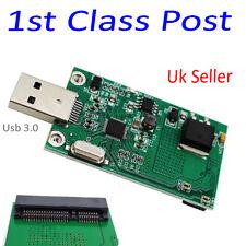 SSD Esterno PCBA CONVETER M-SATA SSD mSATA Lettore di card USB 3.0 Adapter Board