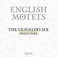 THE GESUALDO SIX/OWAIN PARK - ENGLISH MOTETS [CD]