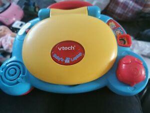 vtech baby laptop used