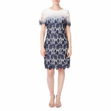 Precis Connie Lace Shift Dress Blue Size UK 12 rrp £129 LF170 KK 16