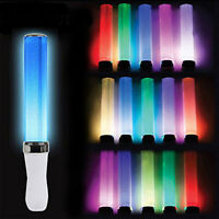 Battery Powered Light Stick 15 Colors Change LED Glow Stick Wedding Party Celeb.