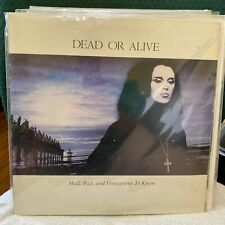 Dead or Alive Mad, Bad, And Dangerous To Know Vinyl Album