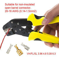 0.14-1.5mm² Crimper Terminal Crimping Tool Pliers Cable Wire Ratchet Stripper