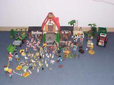 Playmobil Bauernhof 4490 mit Trecker und Anhängerund viel zubehör