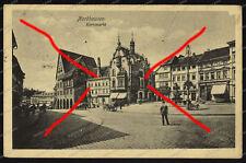 AK-Nordhausen-Kornmarkt-Thüringen-gelaufen-1918-