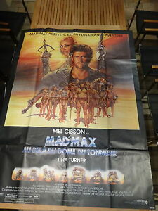 MOVIE POSTER / AFFICHE 116 x 158cm MAD MAX 3 (TINA TURNER / MEL GIBSON)