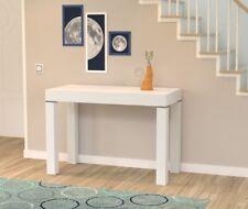 Tavolo soggiorno cucina consolle allungabile ingresso 3 metri colore Bianco 110