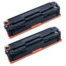 2 Compatible CF210A 131A Black Toner Cartridge For HP LaserJet Pro MFP M276nw