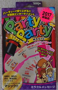 Tenyo Party Party Magic  Miracle Message