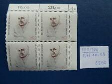 BRD 1988, 100 Geburtstag von Jean Monnet, Michel 1372, **, VB, Eckst r.o.
