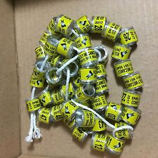 100pcs 8mm Customized Bands For Racing Pigeon Birds Leg Rings With Pictures