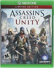 Assassin's Creed Unity Limited Edition for Xbox One - BRAND NEW - UNOPENED