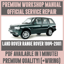 *WORKSHOP MANUAL SERVICE & REPAIR GUIDE for LAND ROVER RANGE ROVER 1994-2001