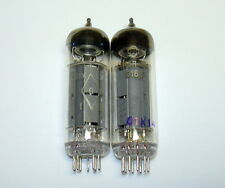 Matched Pair 6p15p-ev = el83 = sv83 ~ el84 Pentode Tube Gold Greed NOS