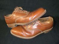 Men's Trafalgar  Brown Leather Shoes Size 9 Oxford H1652 526028D