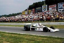 Alan Jones Williams FW06 British Grand Prix 1978 Photograph