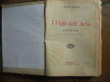 SALGARI-I FIGLI DELL'ARIA-DONATH-1904-I°ED