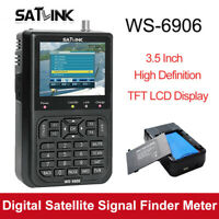 "Satlink WS-6906 3.5"" LCD Satellite Signal Finder Receiver Meter DVB-S Für TV AV"