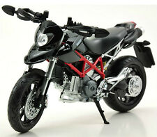 Automax 1/12 DUCATI  Hypermotard Motorcycle Model Bike Toy Gift New In Box Black