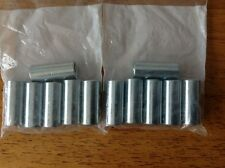 GO KART AXLE HUB RIM WHEEL NUT - CYLINDRICAL 8mm STEEL - 30mm x 13mm - 12 PACK