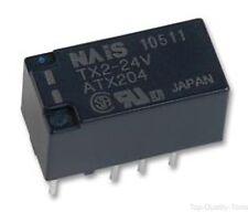 PANASONIC EW, TX2-24V, RELAY, PCB, DPCO, 24VDC