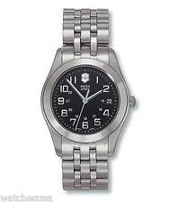 Victorinox Swiss Army Men's 24669 Alliance Titanium Black Dial Military Watch