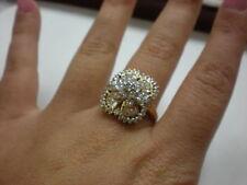 LADIES 14KYG DIAMOND 2.00CTW CLUSTER RING, 7.1GR (xpv507-02)