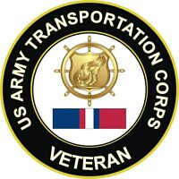 "Army Transportation Corps Kosovo Veteran 5.5"" Decal / Sticker"