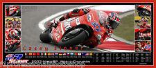 Casey Stoner  82cmx36mm panoramic photo collage Ltd ed of 27