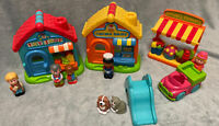 Elc Happyland Bundle, Toy Shop, Bakery, Flowers figures and animals. Sounds Work