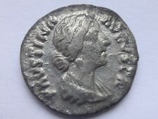 Faustina II AR Denarius. Rome, AD 147-176 .   2,98 g /  18 m     130
