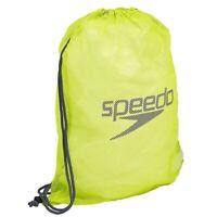 Speedo Mesh Swim Bag - Lime Punch, Swimming Bag, Mesh Sports Bag, Gym Bag