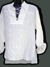 BNWT Pirate shirt,white color,l/s..Size 3XL