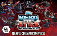Topps Hero Attax Marvel Cinematic Universe Trading Cards HOLOGRAPHIC FOIL #1-48