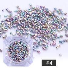 BORN PRETTY Chameleon Rhinestone Stone Small Irregular Beads 3D Nail Art Decor