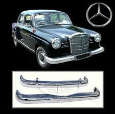 Brand new Mercedes Ponton W120 W121 4 Cyl (59-62) stainless steel bumpers