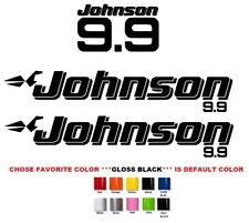 (#709) JOHNSON 9.9 OUTBOAT STICKERS DECALS