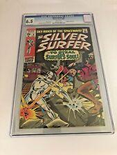 SILVER SURFER #9 CGC 6.5  Marvel Comics 10/69 Mephisto Appearance