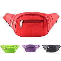 KE_ Unisex Outdoor Sports Waist Bag Waterproof Zipper Fanny Pack Leg Pouch Del
