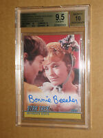 ✨✨ BGS 9.5 STAR TREK 2008 TOS ORIGINAL SERIES BONNIE BEECHER AUTO AUTOGRAPH A190