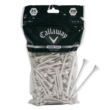 "Callaway Golf Wood Tees, 2 3/4"" Size, 250 Count (CT27034-White)"
