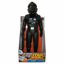 "Disney Star Wars Rebels Action Figure Tie Fighter Pilot 18"" Poseable"