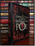Edgar Allan Poe Complete Tales and Poem Rare Leather Bound Collectible 1st Print