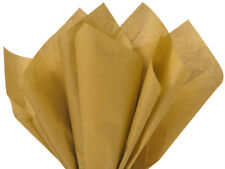 "Antique Gold Tissue Paper 15x20"" 480 Sheet Ream Holiday Christmas Weddings"