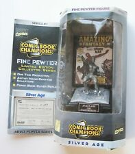 Spider-Man Fine Pewter Figure Statue New Limited Edition Sealed Vintage Marvel